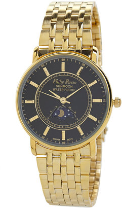 American Apparel Philip Persio Gold & Black Analog Watch