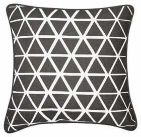 Milano Collection Pearce Square Decorative Cotton Throw Cushion
