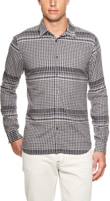 7 For All Mankind Engineer Plaid Sport Shirt