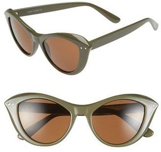 A. J. Morgan A.J. Morgan 'Siren' 50mm Cat Eye Sunglasses
