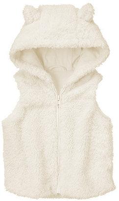 Gymboree Snow Bear Faux Fur Vest