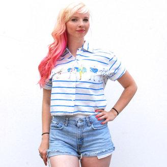 Clik Stripe Sailing Fashion Top