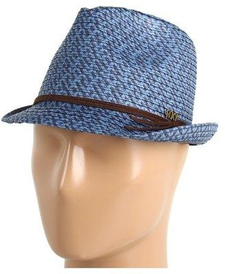Roxy Heat Wave Fedora Hat (Blue/Black) - Hats