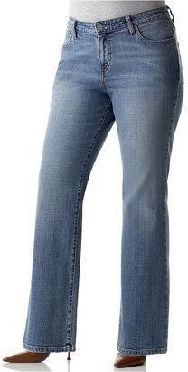 Levi's Plus Size Jeans, 580 Defined Waist Sky Wash