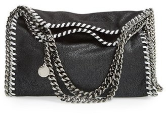 Stella Mccartney 'Mini Falabella - Shaggy Deer' Faux Leather Tote - Black $1,055 thestylecure.com