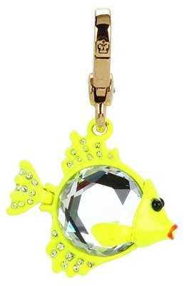Juicy Couture Gem Fish Charm (Gold) - Jewelry