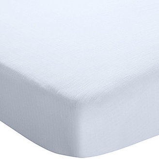 Aden Anais ADEN BY ADEN + ANAIS aden by aden + anais Fitted Crib Sheet - Blue