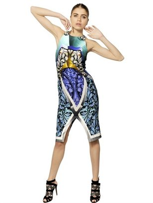 Peter Pilotto Printed Silk Jersey Dress