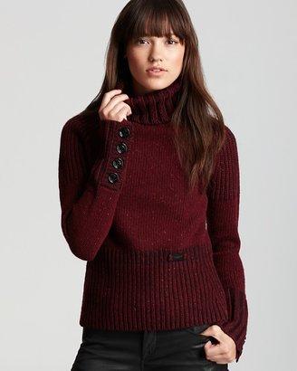 Burberry Heritage Tweed Turtleneck