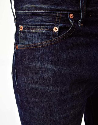 Levi's Jeans 1967 505 Straight Blue Shadow Selvage