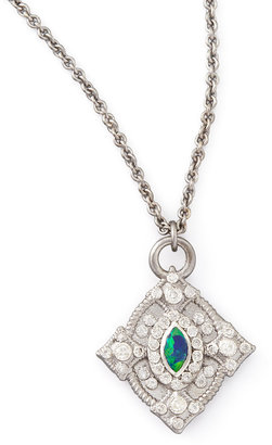 Armenta New World Opal & Diamond Cravelli Necklace