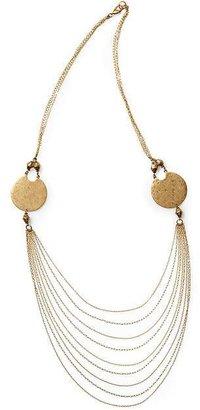 Hive & Honey Double Disc Necklace