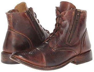 Bed Stu Bonnie (Teak Rustic) Women's Zip Boots