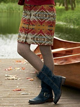 Pendleton Journey West Jacquard Marguerite Skirt