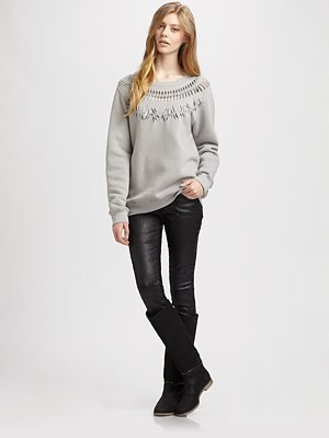 Maison Martin Margiela Cutout Sweatshirt