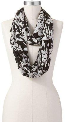Apt. 9 floral bouquet scarf