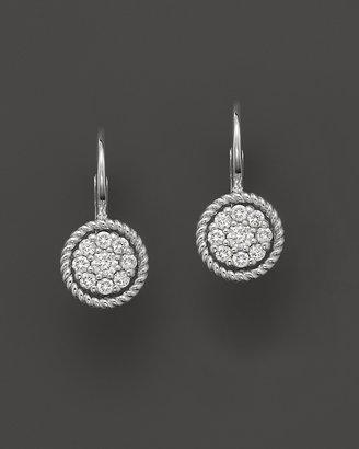 Bloomingdale's Diamond Cluster Earrings in 14K White Gold, .25 ct. t.w.