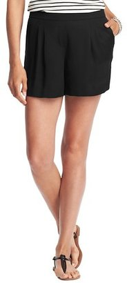 "LOFT Petite Fluid Skort with 4"" Inseam"