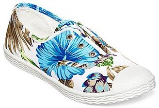Arizona Lacy Print Laceless Sneakers