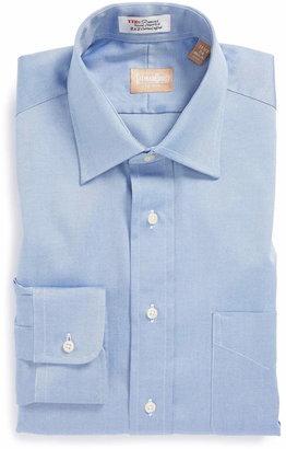 Gitman Regular Fit Pinpoint Cotton Oxford Point Collar Dress Shirt