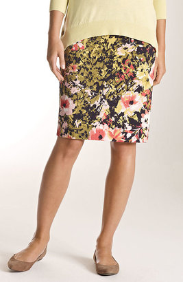 J. Jill Perfect print pencil skirt