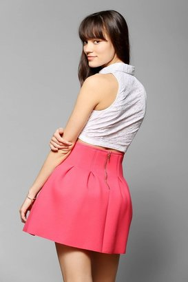 Sister Jane Inverted-Pleat Tulip Skirt