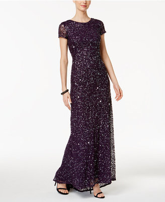 Adrianna Papell Beaded Ombré Gown $280 thestylecure.com