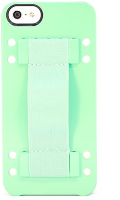Boostcase iPhone 5 Hybrid Snap Case in Mint with Handstrap and Stand