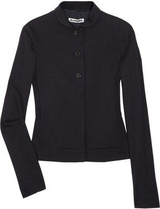 Jil Sander Pinstripe wool-blend jacket