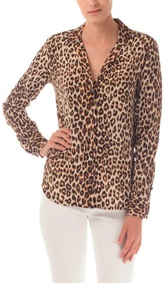 Equipment Adalyn Leopard Blouse