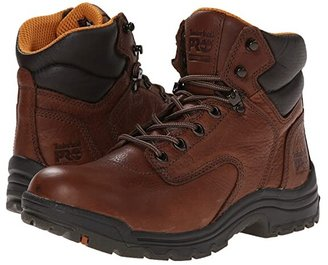 Timberland TiTAN(r) 6 Soft Toe (Coffee Full-Grain Leather) Women's Work Boots