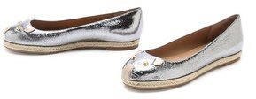 Marc by Marc Jacobs Metallic Mouse Flats