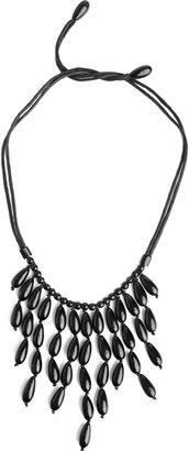 Josie Natori Oval Horn Necklace