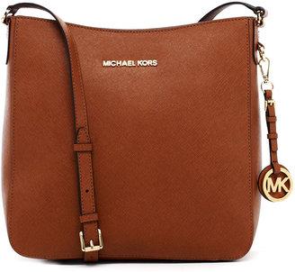 MICHAEL Michael Kors Michael Kors Jet Set Large Travel Messenger Bag, Luggage