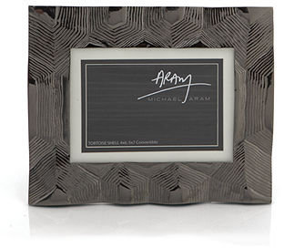 Michael Aram Picture Frame, Tortoise Convertible Size