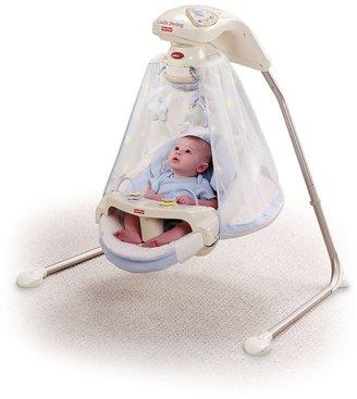 Fisher-Price Starlight Papasan Cradle Swing $169.99 thestylecure.com
