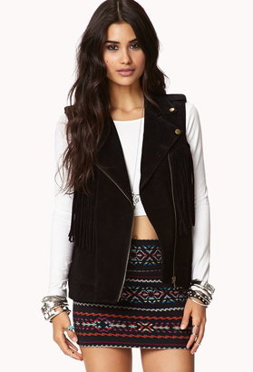 Forever 21 South Bound Suede Vest