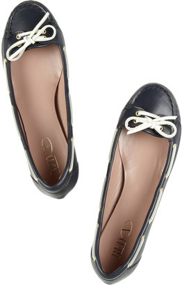 RED Valentino Leather moccasins