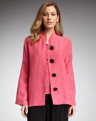 Caroline Rose Plisse Jacket