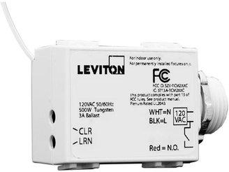 Leviton 500W LevNet RF 3-Wire Relay Receiver, EnOcean, Title 24 Compliant