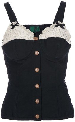 Jean Paul Gaultier Vintage corset vest top