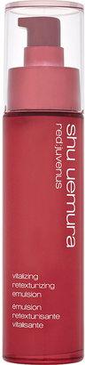 shu uemura Red:juvenus evitalising retexturising emulsion 75ml