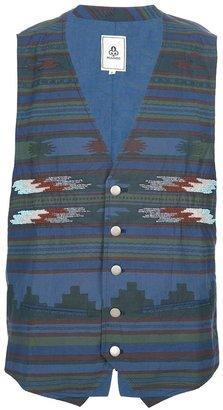 Mando patterned vest
