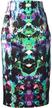 Milly printed skirt