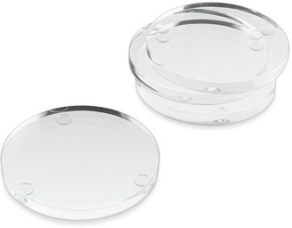 Williams-Sonoma Acrylic Party Coasters, Set of 4