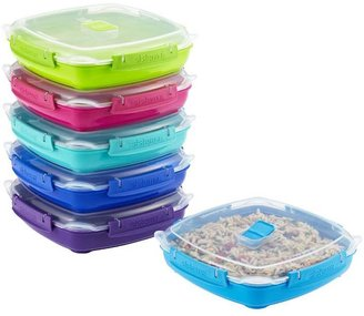 Container Store 29.7 oz. Microwave Plate To Go 880 ml. Assorted