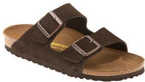 Birkenstock 'Arizona' Suede Sandal (Women)