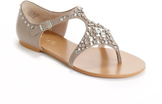 Joan & David Kath Studded Leather Sandals