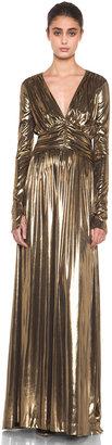 Thomas Wylde High Priestess Dress in Gold