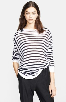 Alexander Wang Long Sleeve Stripe Tee